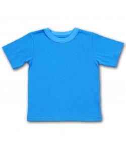 Детская футболка синяя