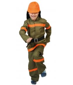 Костюм Пожарный текстиль детский