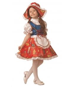 Костюм Красная шапочка сказочная детский