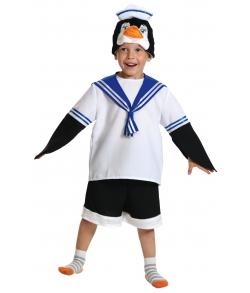 Костюм Пингвинчик Шкипер детский
