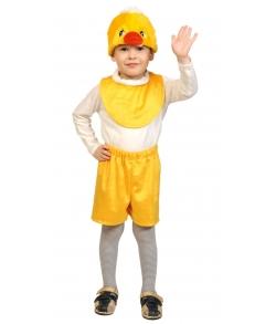 Костюм Цыпленок желтый детский