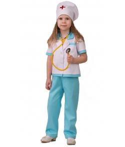 Костюм Медсестра с фонендоскопом детский