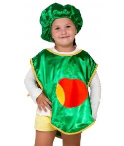 Костюм Яблоко в фартуке детский