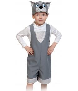 Костюм Котик (серый) детский