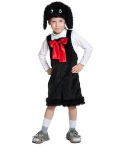 Костюм Пудель в маске плюш детский