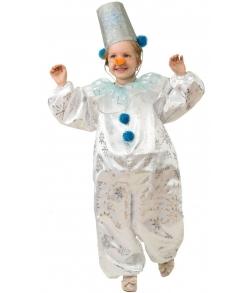 Костюм Снеговичок Снежок детский