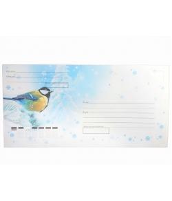 Почтовый конверт (Синица)