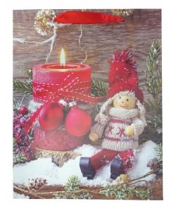 Пакет новогодний подарочный детский «Кукла»