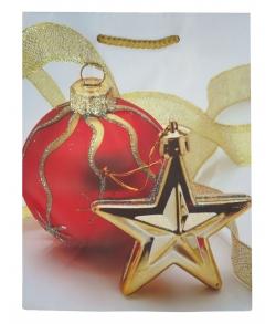 """Подарочный пакет """"Шарик со звездой"""""""