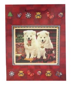 Новогодний пакет для подарков детям «Собачки»