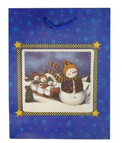 Новогодний пакет для детей «Снеговик»