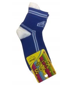 Детские спортивные носки с лампасным рисунком