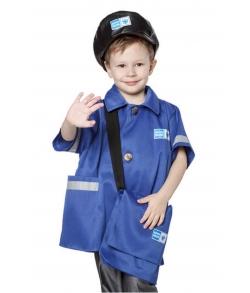 Детский костюм почтальона (цвет синий)