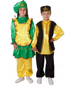 Татарский народный костюм для девочки