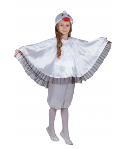 Детский костюм аиста (цвет белый)