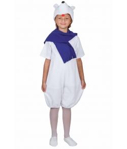 Детский костюм белого медведя