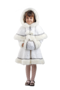 Новогодний костюм снегурочки детский