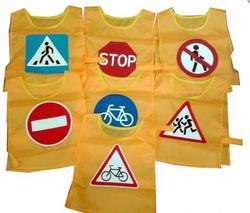 Жилет - дорожный знак