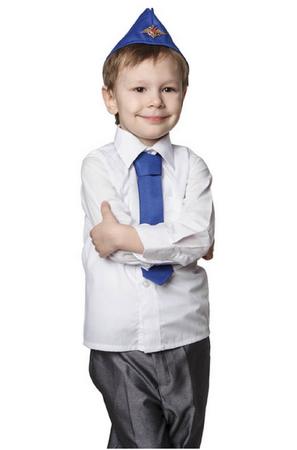 Детская пилотка летчика с кокардой