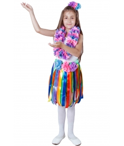 Гавайский костюм для девочки