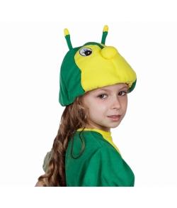 Шапочка гусеницы карнавальная