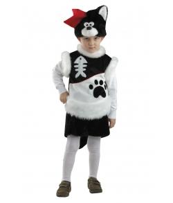 Костюм детский Кот Пират (плюш)