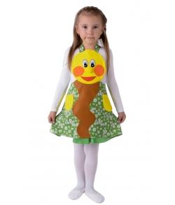 Детский костюм (фартук) Колобок