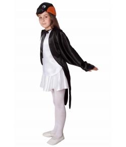 Детский костюм ласточки (цвет черный)