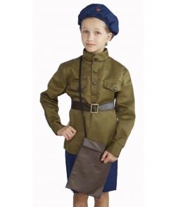 Детский костюм военной летчицы 5-7 лет