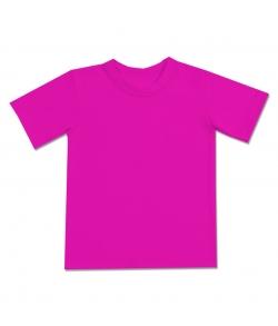 Детская футболка малиновая