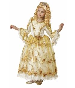 Детский костюм Золушка Золотая (К-премьер) 925