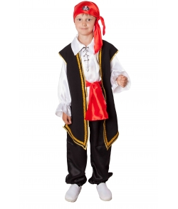 Детский костюм пирата для мальчика