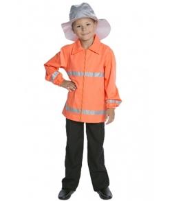 Детский карнавальный костюм пожарного