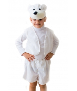 Костюм белый мишка