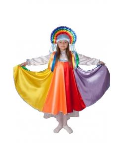 Костюм радуги для девочки