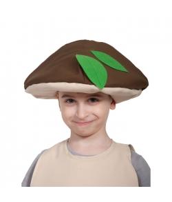 Карнавальная шапочка гриб Боровик