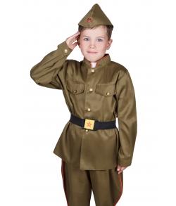 Детская военная гимнастерка