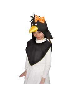Костюм вороны для девочки
