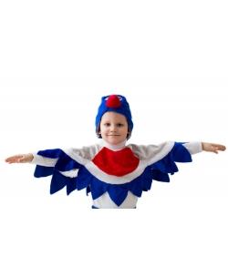 Костюм Снегирь в шапке детский