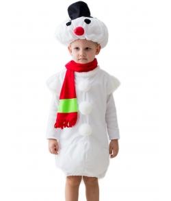 Снеговик костюм детский