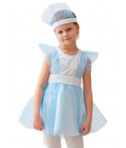 Детский костюм девочка снежинка