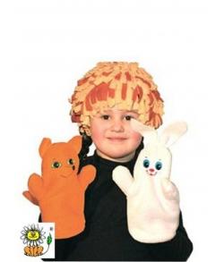 Клоунский парик карнавальный костюм детский