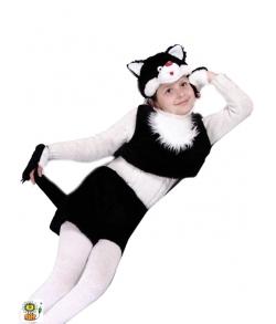 Костюм кота для девочки