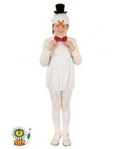 Снеговик  Карнавальный Костюм (Флис)